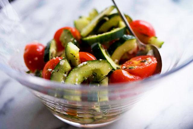 Greek-Style Summer Salad with Feta